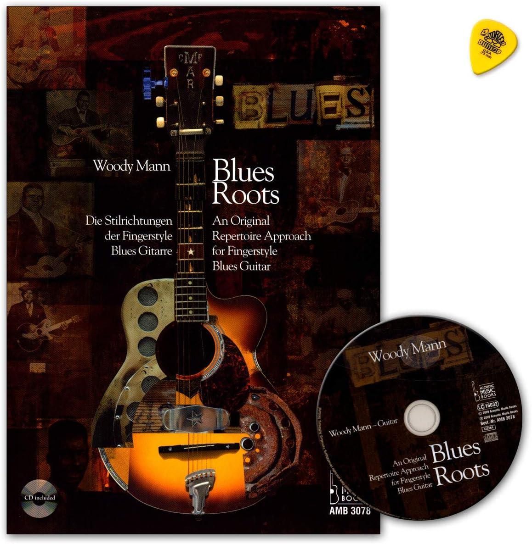 Blues Roots. Los estilos de dedos Style Guitarra Blues – Libro con ...