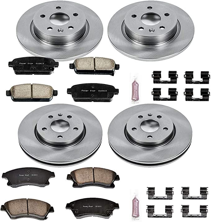 Power Stop KOE5550 Autospecialty Daily Driver OE Brake Kit