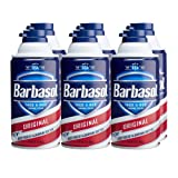 Amazon Price History for:Barbasol Original Thick and Rich Shaving Cream for Men, 10 Ounce, Pack of 6