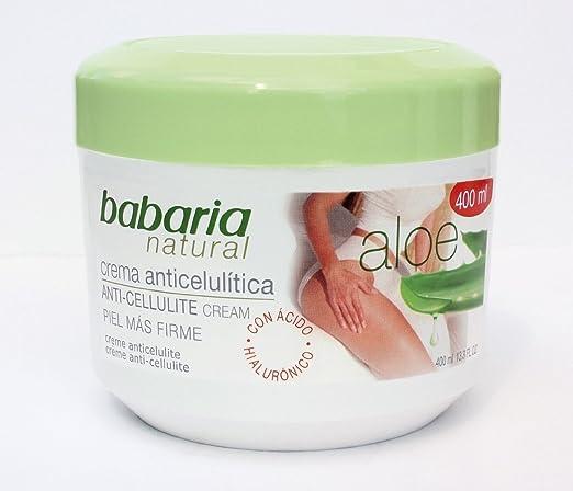 Amazon Com Babaria Aloe Vera Anti Celulitis Crema Cafeina 400 Ml By Babaria Home Kitchen