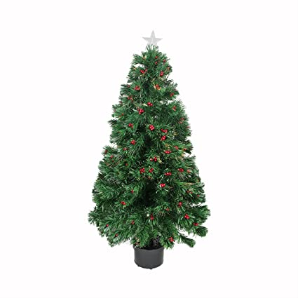 Image Unavailable - Amazon.com: Northlight Pre-Lit Color Changing Fiber Optic Christmas
