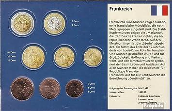 France 1 3 F 2010 2010 Stgl Unzirkuliert Kursmünze 1 2 5 Cent