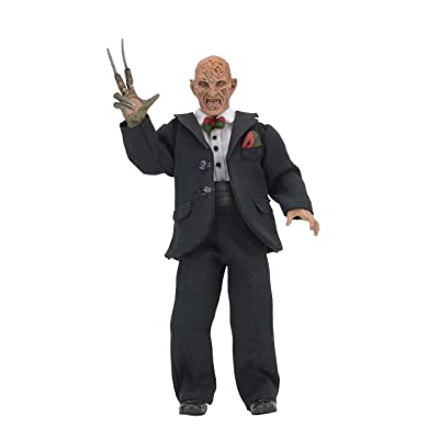 "NECA - Nightmare on Elm Street Part 3 - 8"" Clothed Action Figure - Tuxedo Freddy: Toys & Games"