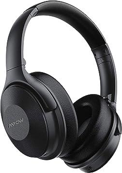 Mpow H17 Auriculares con Cancelación de Ruido, 45 Horas de Reproducir, Cascos Bluetooth Diadema con Carga Rápida, Sonido Hi-Fi, Auriculares Diadema Bluetooth con Micrófono para TV/Móvil/PC: Amazon.es: Electrónica