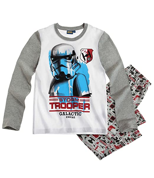 Star Wars-The Clone Wars Pijama - Gris - 152