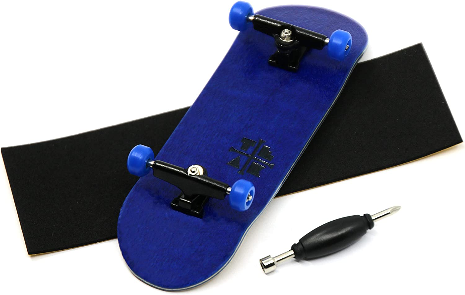 32mm Basic Complete Wooden Maple Handmade Fingerboard Finger Skateboard Pro Set