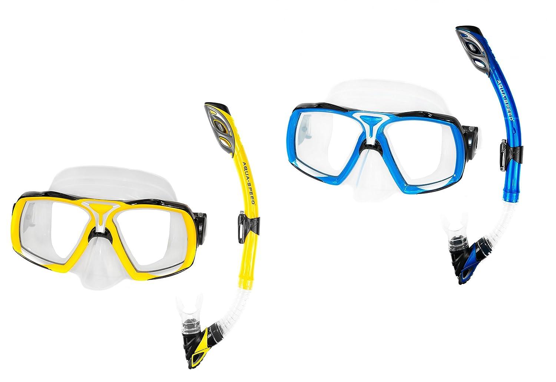 RIO Schnorchel-Set AQUA-SPEED® ELEA Taucherbrille + Schnorchel