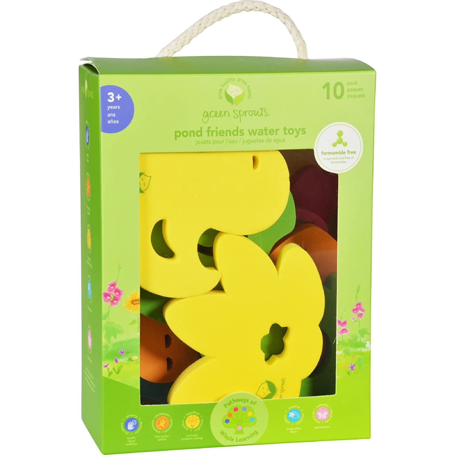 Green sprouts juguetes de ba o pond 3 yea envio for Estanque para bano