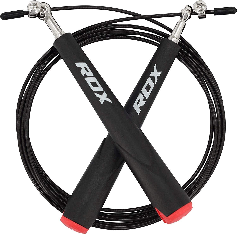 RDX Springseil Mit Aluminiumgriffe Seilspringen Pvc Fitness Training