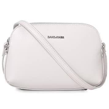 44db1b24b David Jones - Bolso de Hombro para Mujer - Bolso Bandolera Mediano -  Messenger Bag con