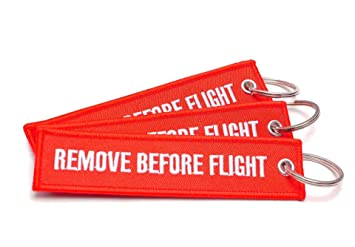 O.T.I.E. Llavero Remove Before Flight - 3 Pieza Pack ...