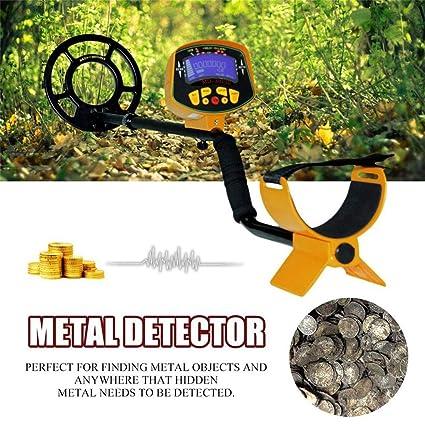 Jacobssen Profundidades de la Tierra del Detector de Metales de Alta sensibilidad de la Pantalla LCD