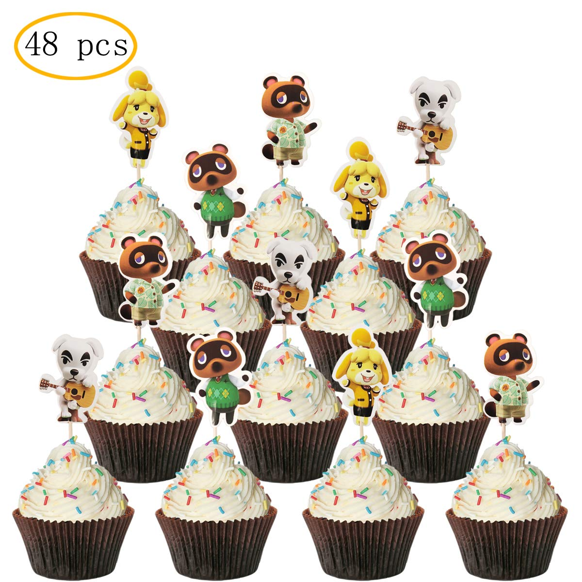 Animal Crossing Party Supply Animal Crossing Print Animal Crossing Centerpiece, Animal Crossing Cake Topper Animal Crossing Birthday