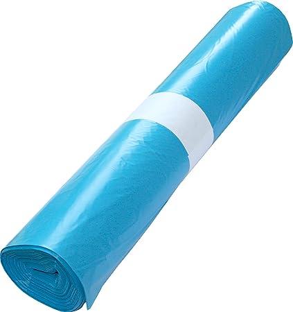 1 Rollo Bolsas de basura (=25 bolsas) 120 L Tipo 60 Azul de ...