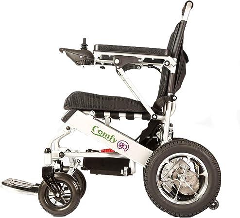 Amazon.com: Silla de ruedas eléctrica de ComfyGO, plegable ...