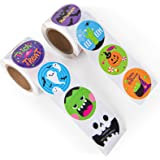 Decorlife Halloween Stickers Roll for Kids, Halloween Spooky Sticker Bulk Clearancefor Trick or Treat, 200 PCS 20…