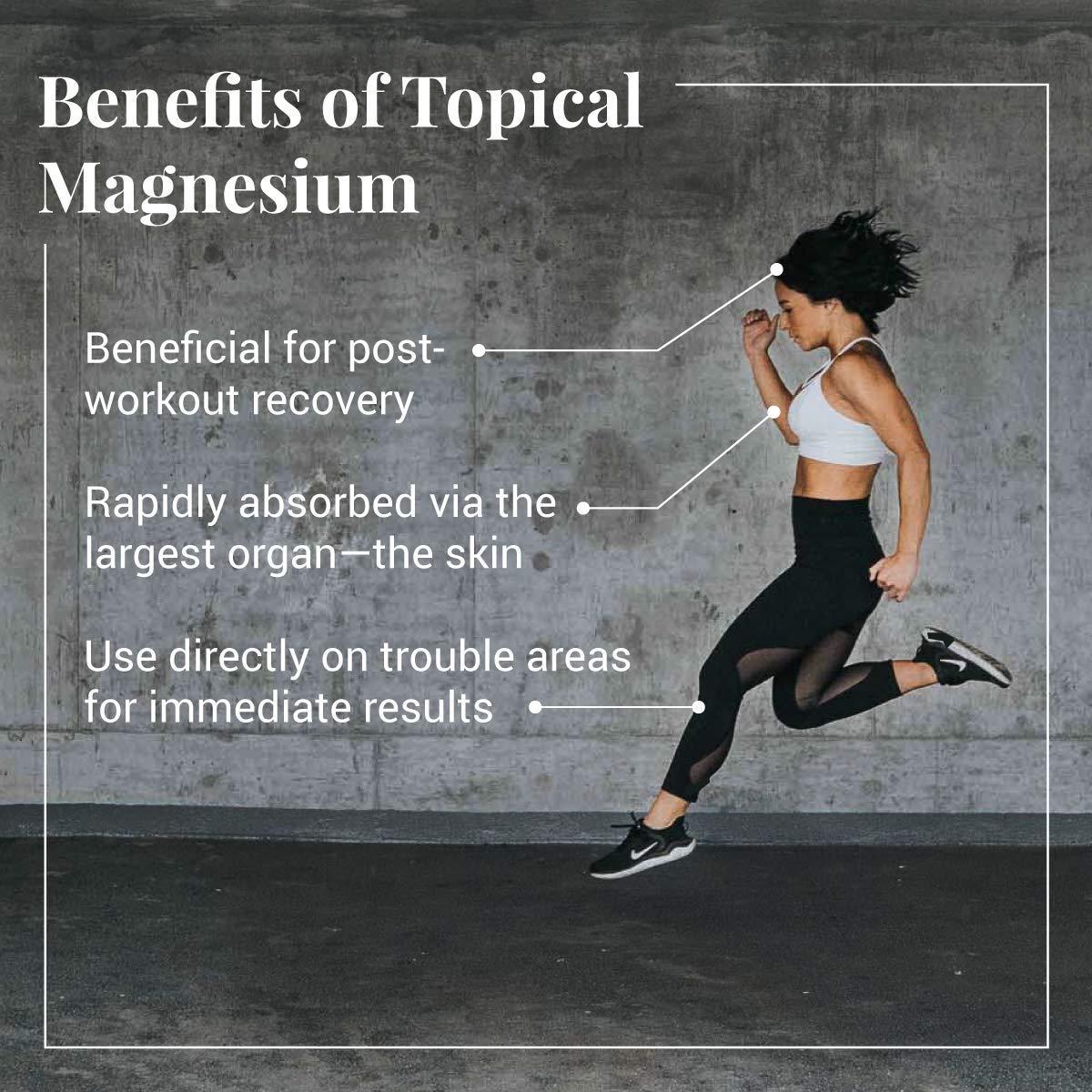 Ancient Minerals Magnesium Oil Spray Bottle of Pure Genuine Zechstein  Magnesium Chloride -