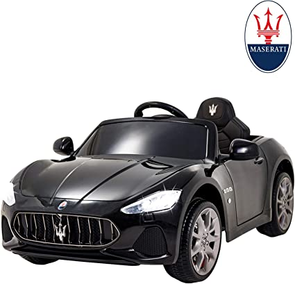 Amazon.com: Uenjoy Maserati Ride On Cars con control remoto ...
