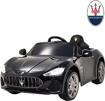 Amazon.com: Uenjoy Maserati Ride On Cars con control remoto ...