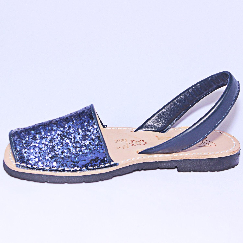 Ibizitas Avarcas Womens Flat Leather Handmade Slingback Sandals Inside Jaylinn Navy B07dhlsp7v 6 Bm Us