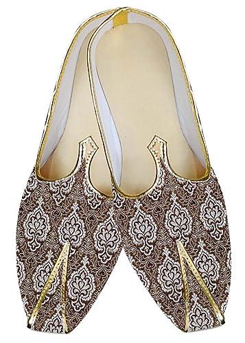 Mens Bronze Wedding Groomsmen Shoes MJ012000