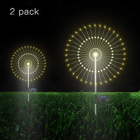 Peachy Amazon Com Outdoor Solar Garden Decorative Lights 105 Led Powered Wiring Digital Resources Nekoutcompassionincorg
