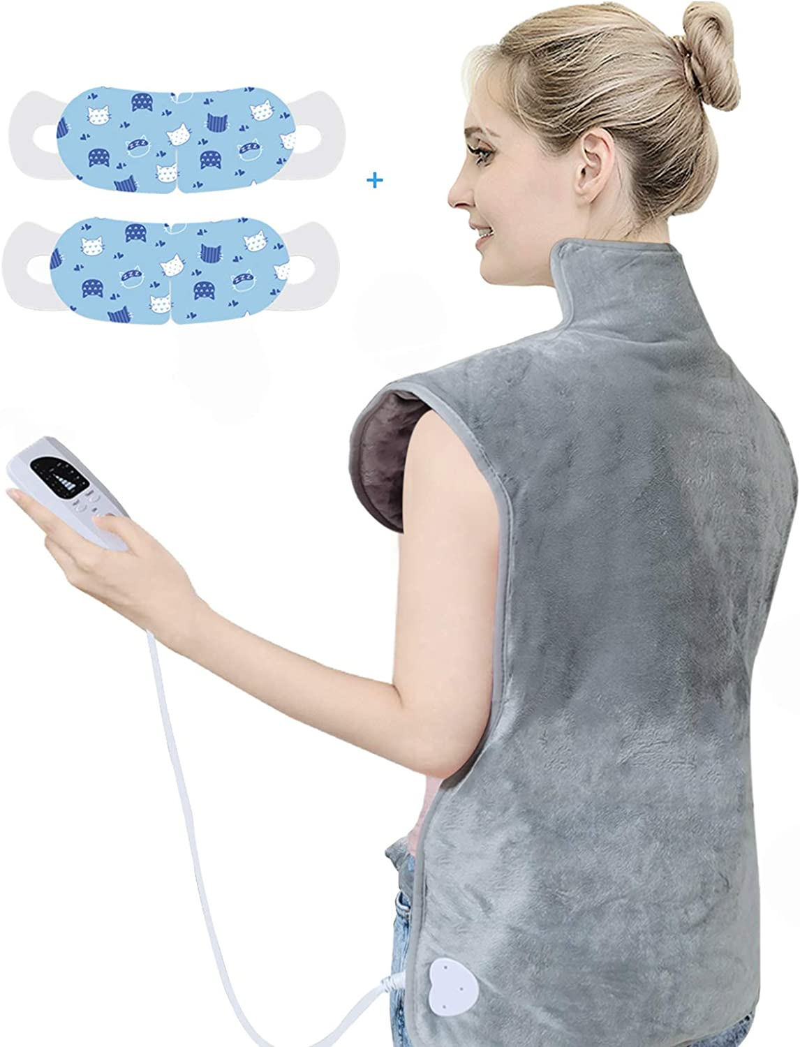 Heating Pad for Back Pain Relief, 37