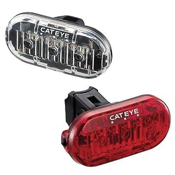 CATEYE Omni 3F/R Lot Tl-ld135Cyclisme Lampes et réflecteurs–Noir D4xKjdhtCe
