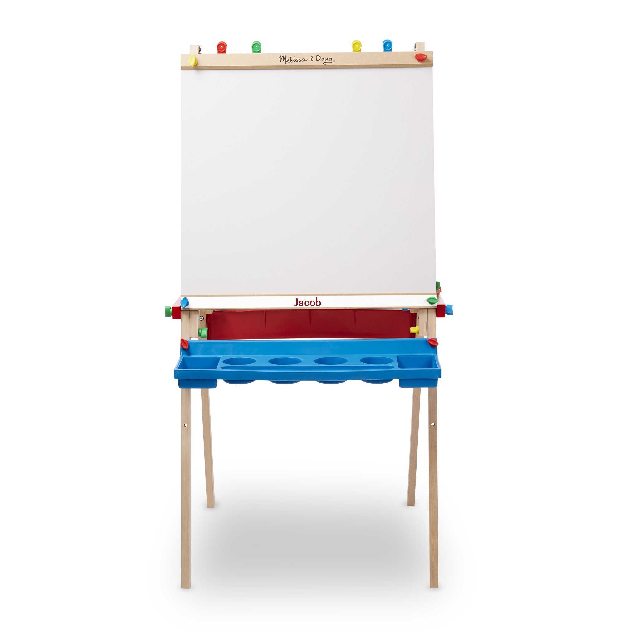 Melissa & Doug Personalized Deluxe Standing Art Easel Toy Toy