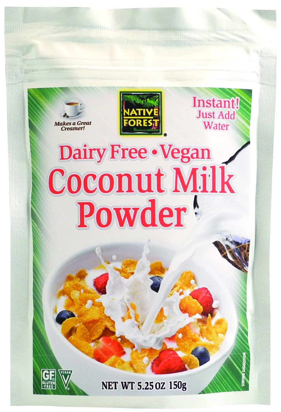 Native Forest Coconut Milk Powder, 5.25 Ounce Bag by Native Forest (Image #1)