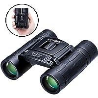 Rivmount RMB20201 8x21 Compact HD Binocular with FMC BK7 Lens (Black Tiny)