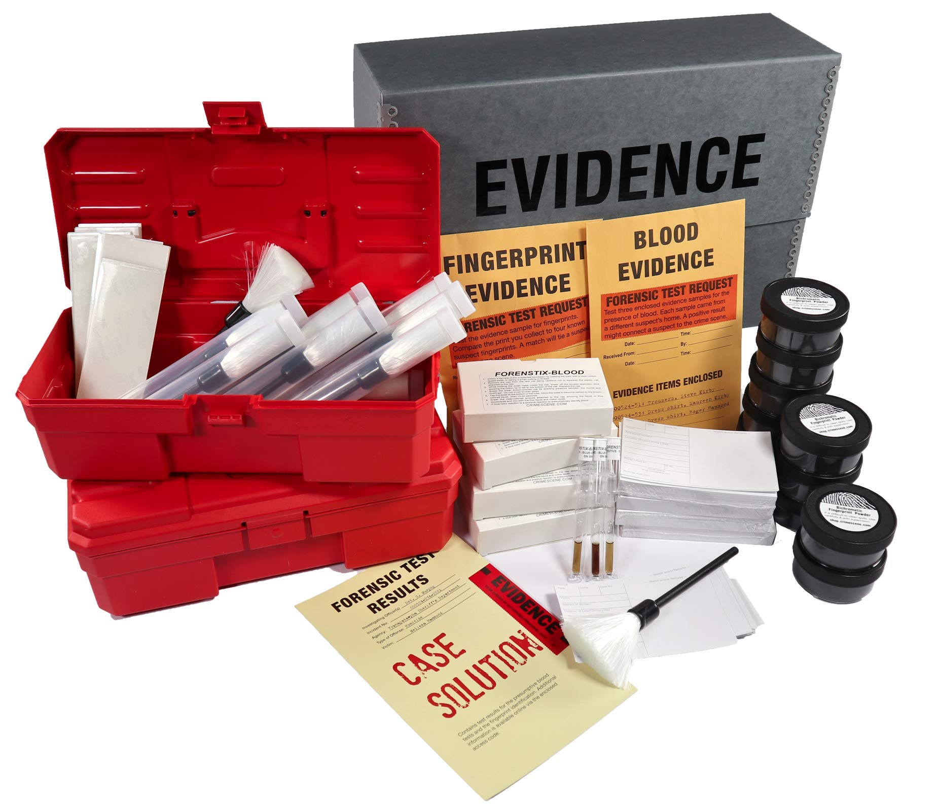Crime Scene Forensic Science Mega Kit: The Missy Hammond Case - 40-Student Pack