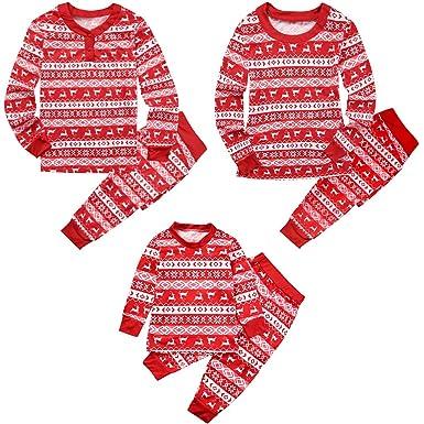 Family Matching Pajamas Christmas Pyjamas Sets - Loungewear Long Sleeve  Sleepwear Xmas Pattern Clothes Set Nightwear 47deaafd2