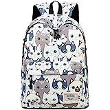 Joymoze Leisure Backpack for Girls Teenage School Backpack Women Backpack Purse Cat