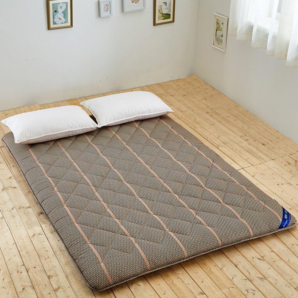 Bedroom comfortable breathable TATAMI mattress/ ground floor sleeping pad/ folding mattress-E 150x190cm(59x75inch)