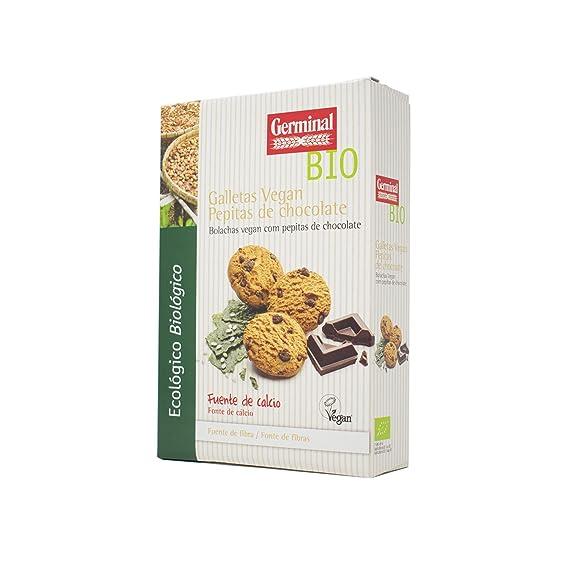 Germinal Galletas Vegan con Pepitas de Chocolate - 250 gr