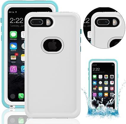Funda Impermeable para iPhone 8 Plus, Waterproof Case para iPhone ...