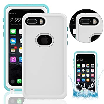 49bc6e3f608 Funda Impermeable para iPhone 8 Plus, Waterproof Case para iPhone 8Plus,  Vandot Premium Carcasa Normal o Bajo El Agua ...