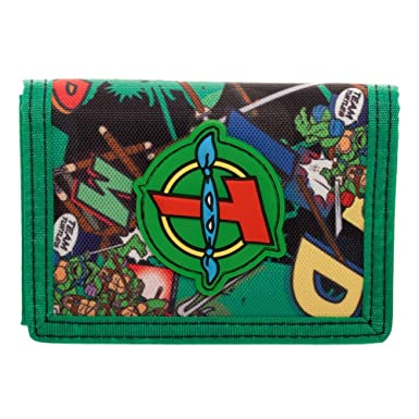 Amazon.com: Cartera para adolescentes Mutant Ninja Turtle ...