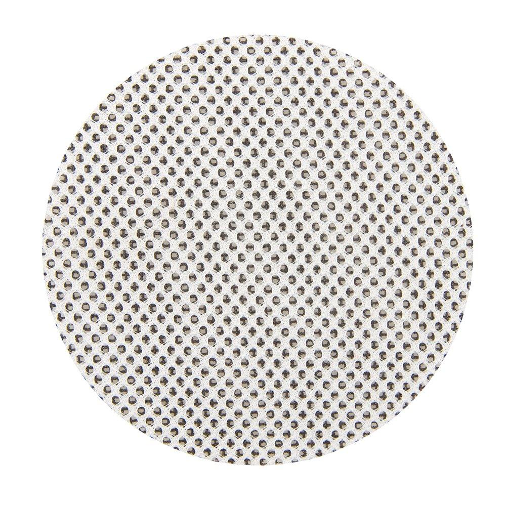 Silverline 711692 Lot de 10 disques abrasifs treillis auto-agrippants 115 mm grains assortis