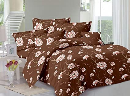 Buy Bigday 40 % Cotton Premium Satin Stripe King Double Bed Fitted Amazing 27 Inch Pillow Covers