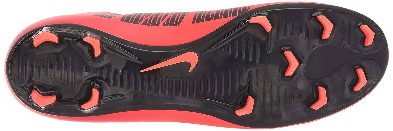 Nike Mercurial Victory Vi Dynamic Fit FG, Zapatillas de Fútbol para Hombre, Negro, Rojo, 45 EU: Amazon.es: Zapatos y complementos