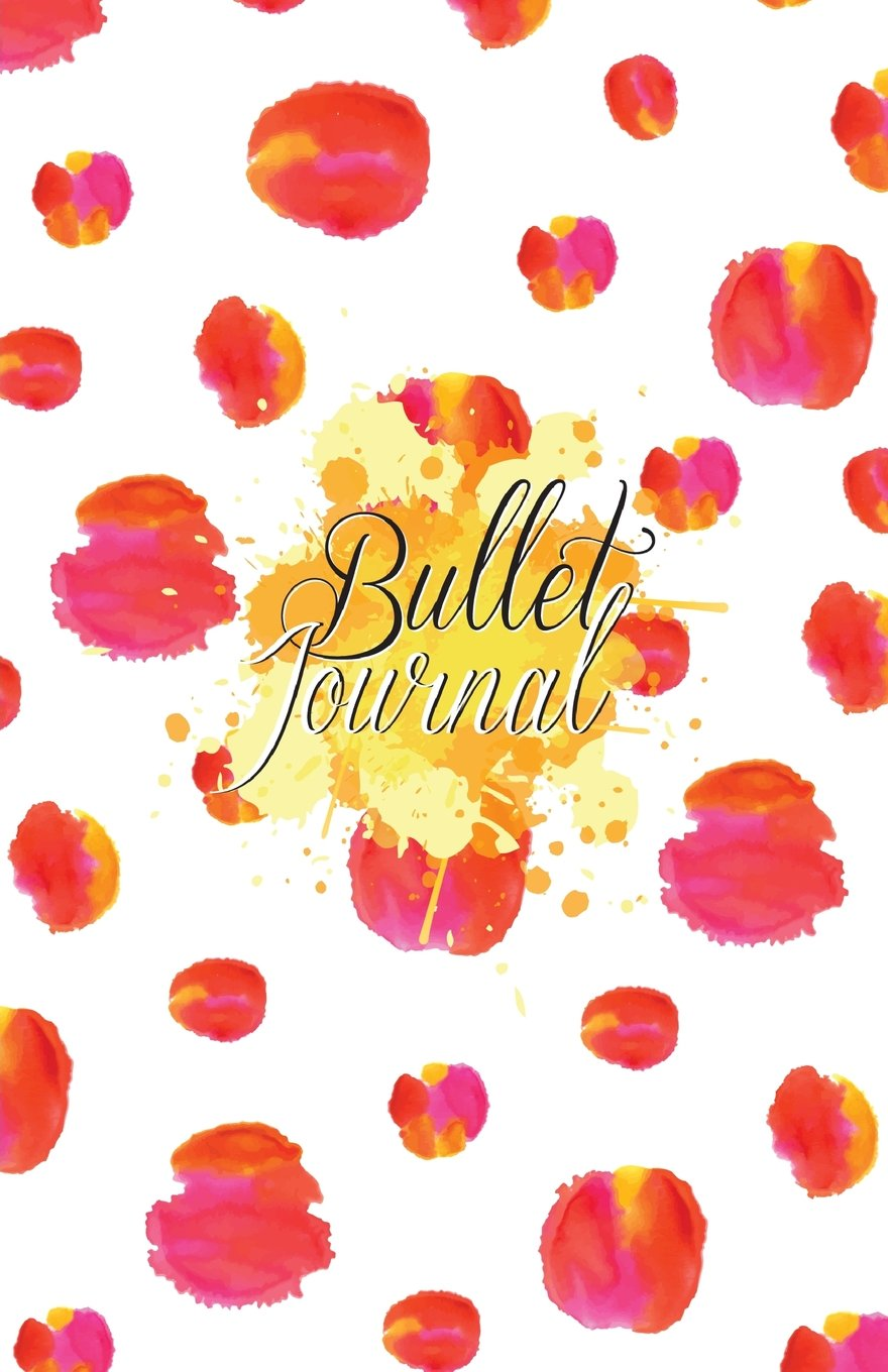 "Download Bullet Journal: Red Valentine Wedding : Notebook, Bullet Journal Dotted Grid, 100 pages (5.5"" x 8.5"") pdf epub"