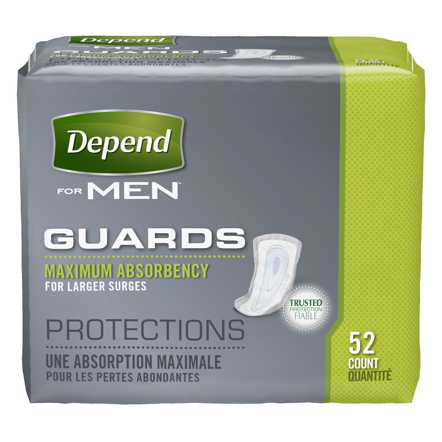 Depend Convenience Guards for Men Save Big, 104-Count Package