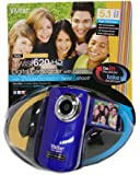 Vivitar DVR620-GRP Ultimate Selfie Digital Camera 5.1 MP with 1.8-Inch TFT LCD, Colors May Vary