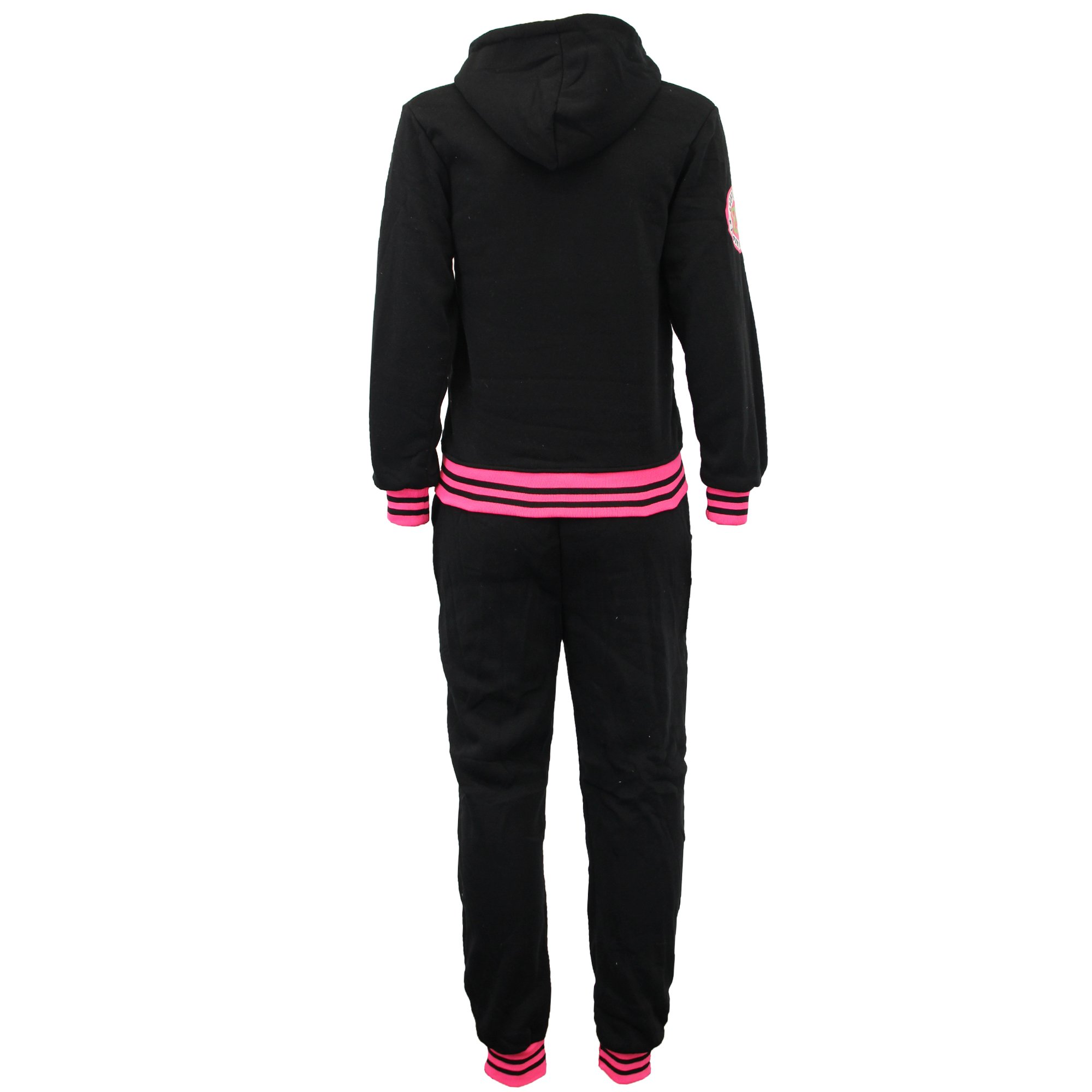 Boys' Tracksuit C73 Black/Fuchsia Size 14 10/11 Years by Unknown (Image #3)