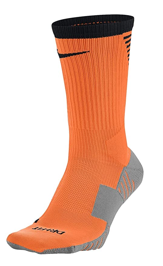 Nike Squad Crew Sock – Calcetines de fútbol calcetines – sx5345 – 803 – Naranja,
