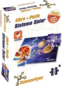 Libro + Puzle Sistema Solar A4: Amazon.es: Juguetes y juegos