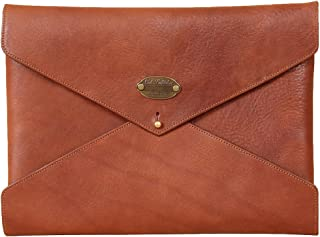 product image for Mens | Womens | Leather | Notepad | Folder | Envelope | Style | Business | Pocket | Brown | Made in USA | Emissary