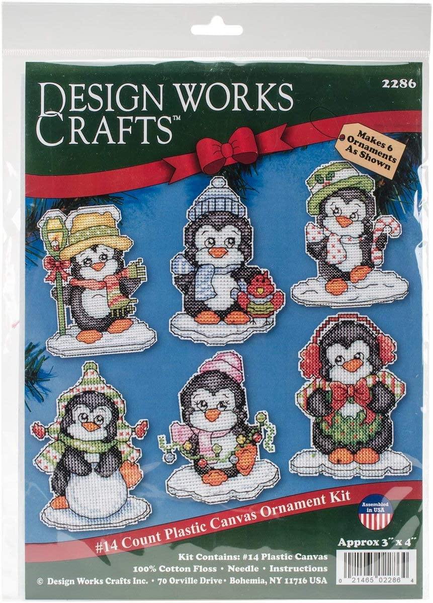 10 by 10 Design Works Crafts Inc Trust X 10 Counted Cross Stitch Kit Multicolor